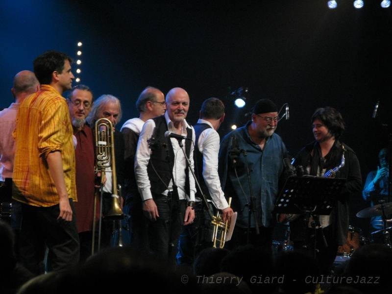 Aldo Romano... & friends - Coutances, 1er juin 2011.