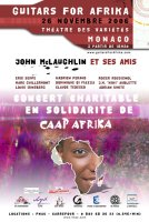 Guitars for Afrika avec John Mc Laughlin -  voir en grand cette image