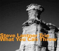 Steve Lantner Trio - « What you can throw » -  voir en grand cette image