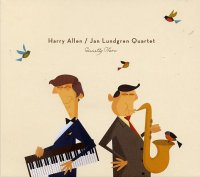 Harry ALLEN – Jan LUNDGREN Quartet : « Quietly There » -  voir en grand cette image