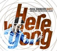 Pascal SCHUMACHER Quartet : « Here we Gong » -  voir en grand cette image