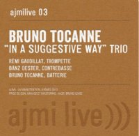 Bruno TOCANNE TRIO : « In a suggestive way – AJMILive 3 » -  voir en grand cette image