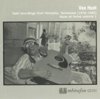 Van Hunt : « Blues at Home Vol. 1 » -  voir en grand cette image