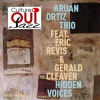 Aruan Ortiz Trio feat. Eric revis & Gerald Cleaver : « Hidden Voices » -  voir en grand cette image