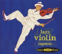JAZZ VIOLIN LEGENDS : « Jazz Violin Legends » -  voir en grand cette image