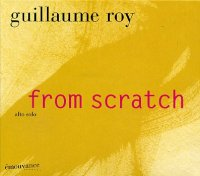 Guillaume ROY : « From scratch » voir en grand cette image