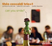 Théo Ceccaldi Trio+1 : « Can You Smile ? »  -  voir en grand cette image